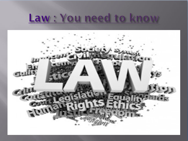 Do my law essay