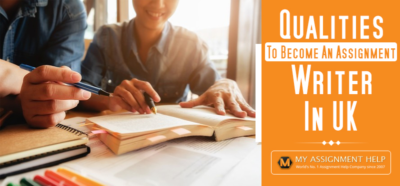 become an assignment writer in UK