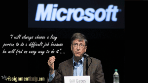 Bill gates biography essay introduction