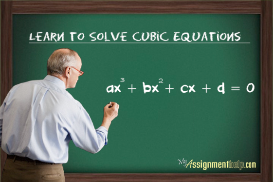 Learn Easy Steps To Solve A Cubic Equation