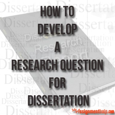 Dissertation questions