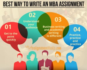 Custom mba assignment