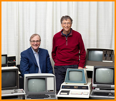 Bill Gates and Paul Allen1