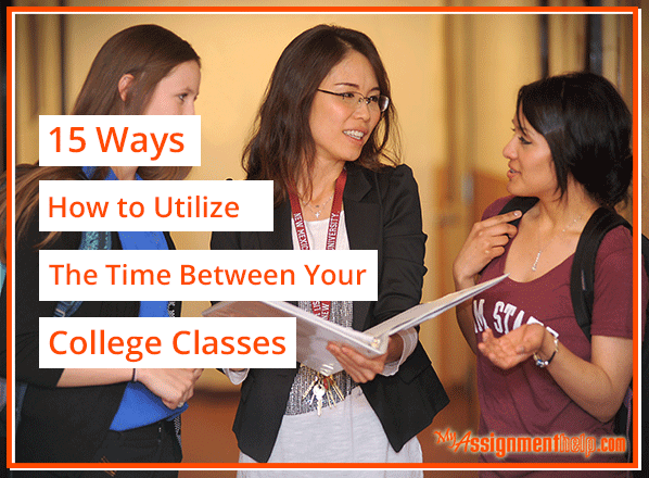 how do college class schedules work