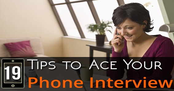 video Phone Interview Tips.