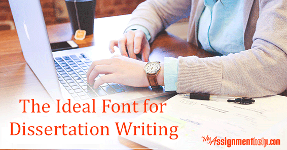 Best fonts for dissertations