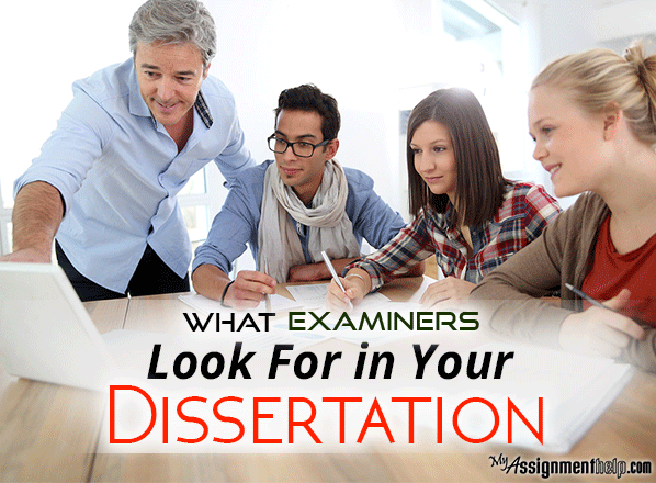 The Undergraduate Dissertation and Criteria for Examination