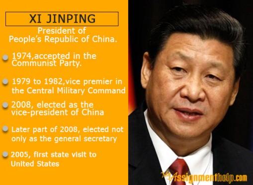 Xi Jinping – President of People's Republic of China