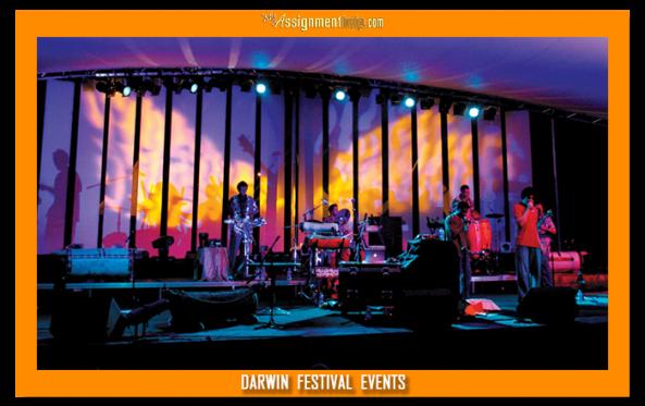 music at darvin festival