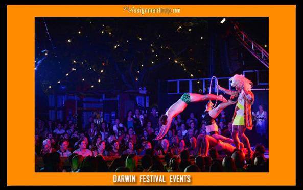 live performance at darwin festival