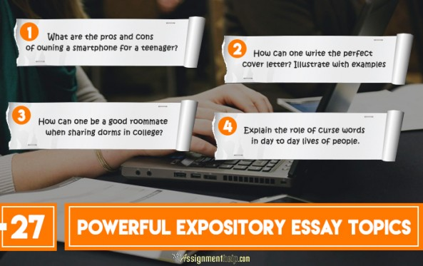 100 powerful expository essay topics