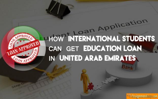 Loans for International Students in UAE