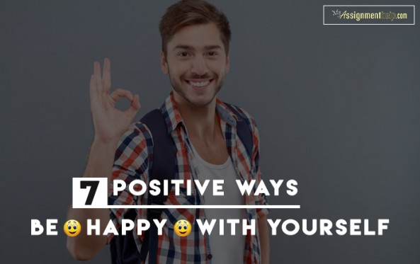 Positive Ways To Be Happy With Who You Are