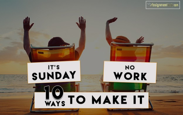 Why People Don't Get the Time to Rest on Sundays Anymore