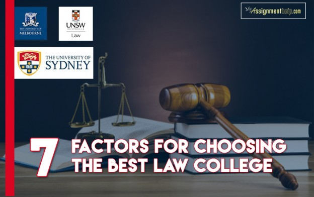 Factors to Consider Before Choosing the Best Law College