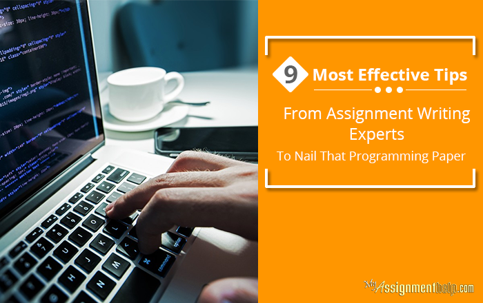 Effective Tips from Assignment Writing Experts to Nail That Programming Paper