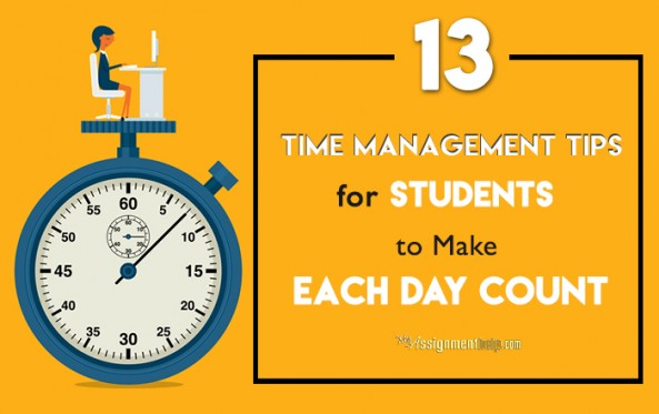 Time Management Tips for Students to Make Each Day Count
