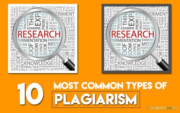 10 Types of Plagiarism