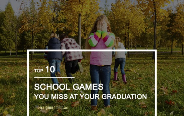 School Games You Miss At Your Graduation
