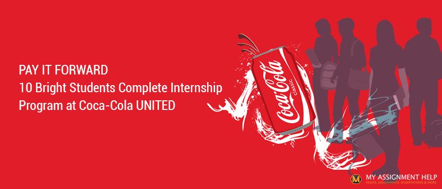 Complete Internship Program at Coca-Cola UNITED