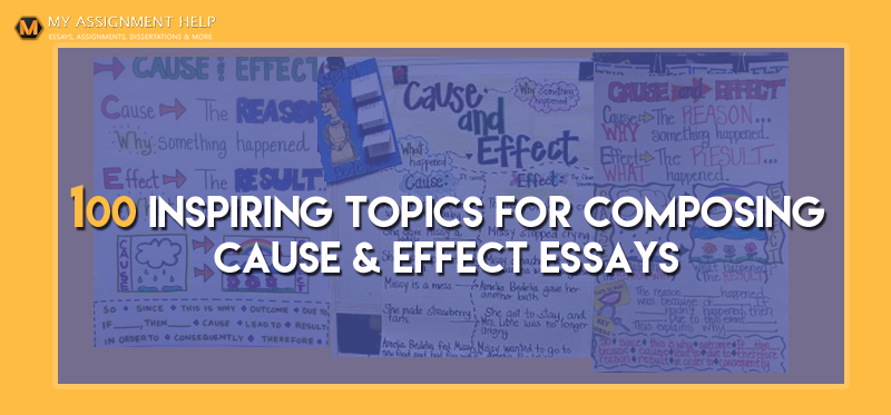 cause and effect topics for a 5 paragraph essay This is the premise behind cause and effect essays a common assignment in high school and college, cause and effect essay urges a writer to elaborate root of the .