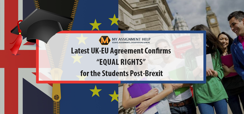 Students Will Get to Enjoy Equal Treatment Even after Brexit