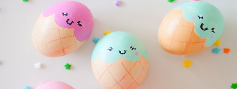 Ice-cream Easter Eggs