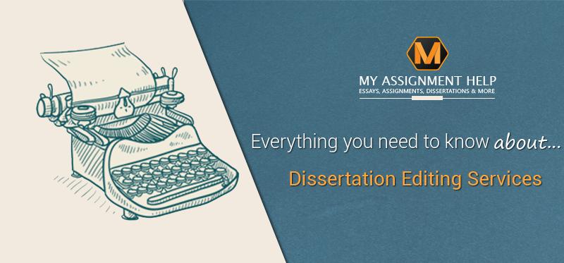 dissertation editing services