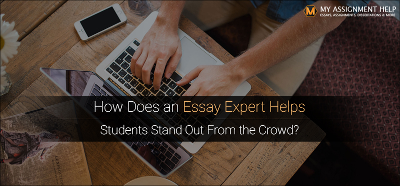 How Does an Essay Expert Helps Students Stand Out From the Crowd