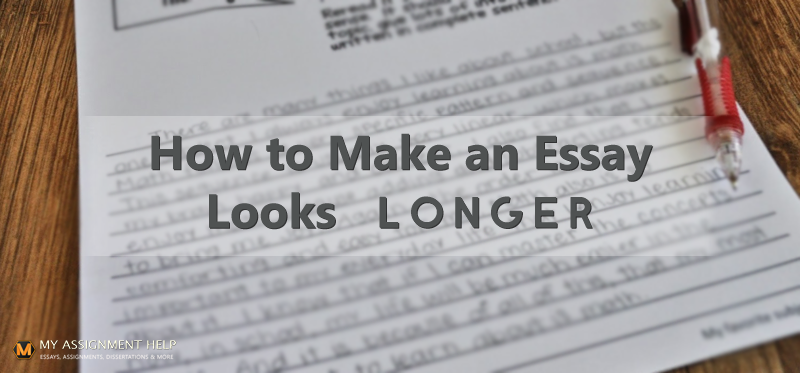 how to make an essay look longer 1