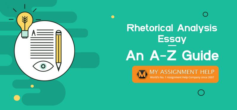 Help writing rhetorical analysis essay