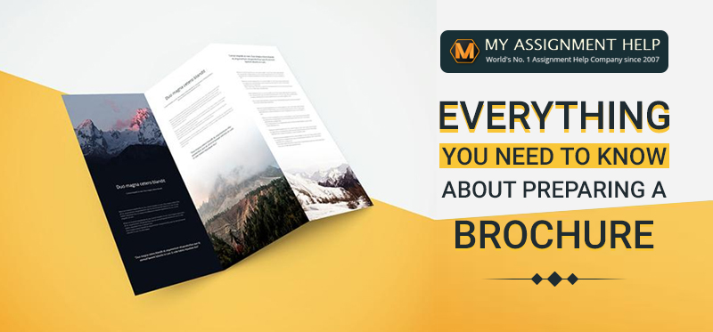 how to write a brochure