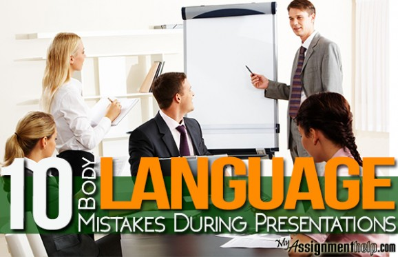 Mistakes During Presentations