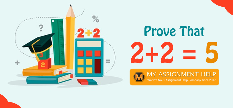 Prove That 2+2 = 5