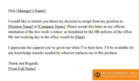 How to Write a Resignation Letter? | Template, Example & Format