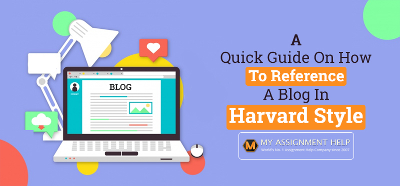 How to Reference a Blog in Harvard Style