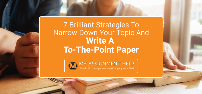 Write A To-The-Point Paper