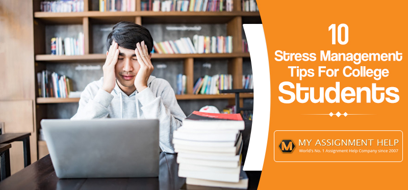 stress management tips for college students