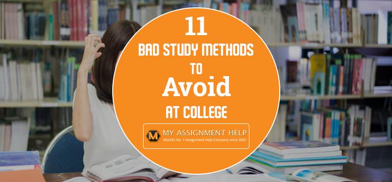 how to break bad study habits