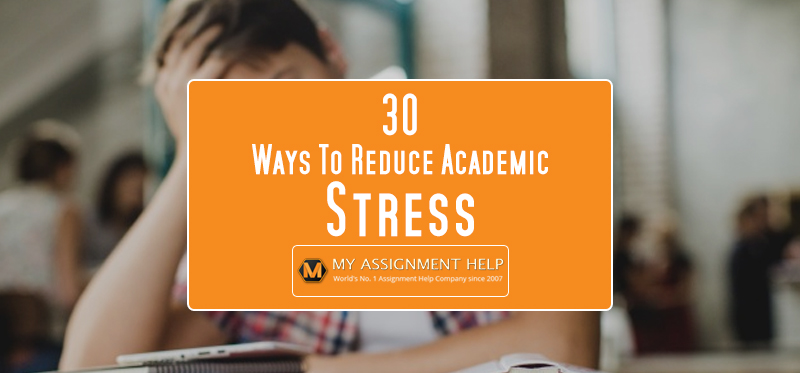 ways to reduce stress for students