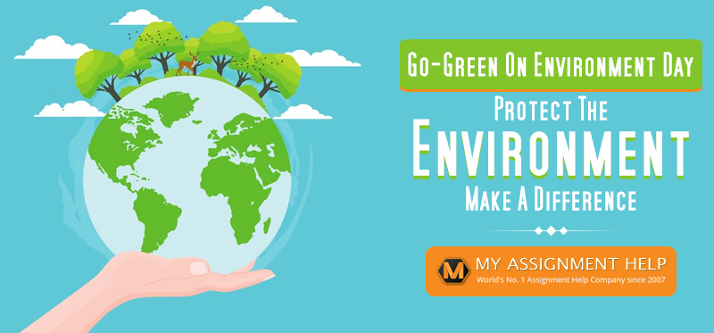 Go-green on Environment Day