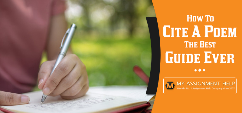 How to Cite a Poem- The Best Guide Ever