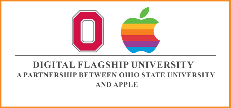 A partnership between Ohio State University and Apple