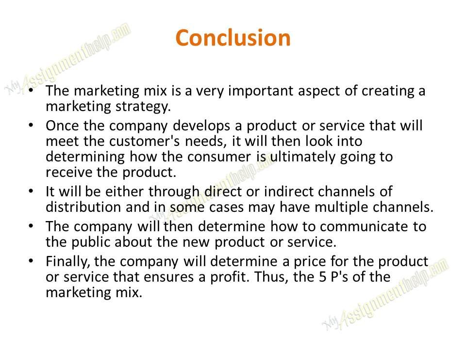 essays marketing mix paper Marketing mix paper essays: over 180,000 marketing mix paper essays, marketing mix paper term papers, marketing mix paper research paper, book reports 184 990 essays.