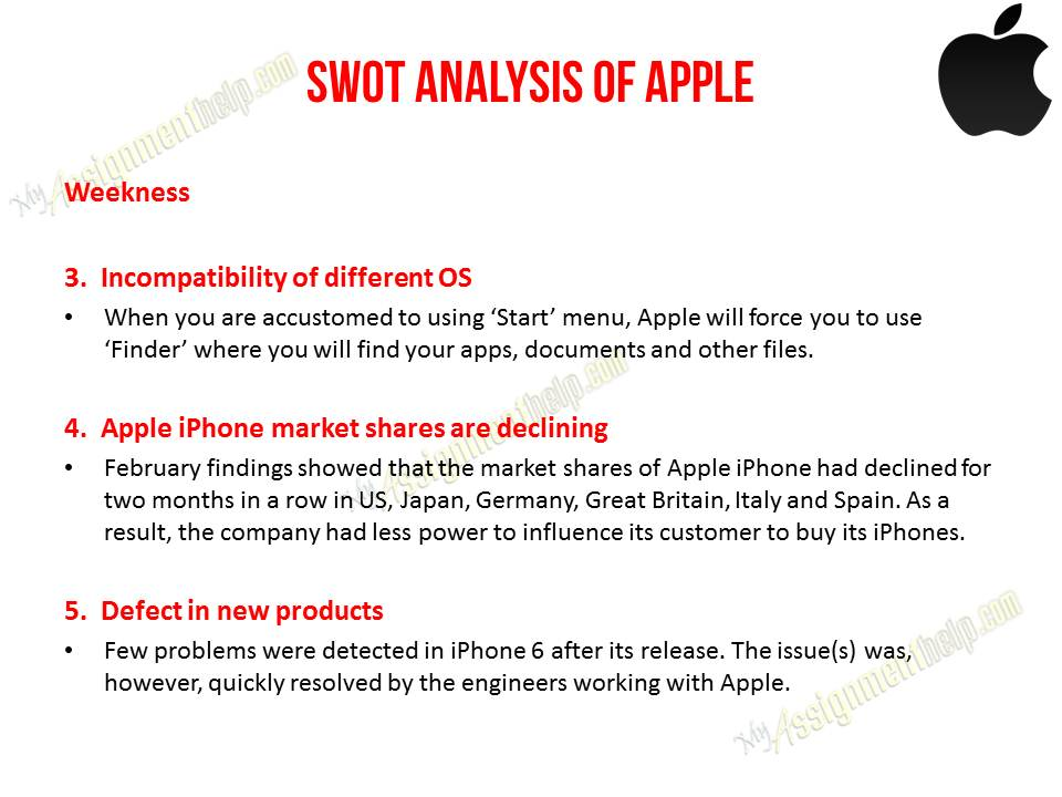 swot analysis of nafta and apple The swot analysis of automobile industry delves deeper into cars, bikes and transport systems which are the most important building blocks for society.