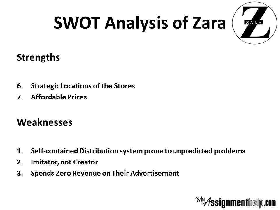 Zara supply chain case study ppt