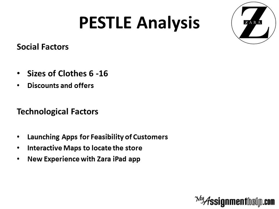 pest analysis of sainsburys in a The analytical techniques that i'll be discussing are swot analysis,  pestle analysis, product life cycle and porter's competitors analysis  sainsbury is a.