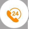 24 X 7 Live Help